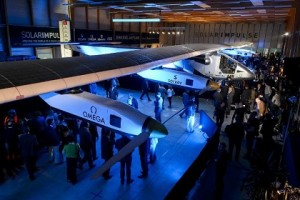 На 2015 год запланирован кругосветный перелет самолета на солнечных батареях »