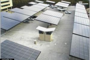 Солнечные парковки — энергосбережение в быту.