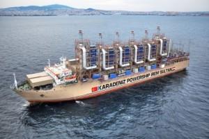 Машины-монстры: Karadeniz Powership — самые большие в мире плавающие электростанции