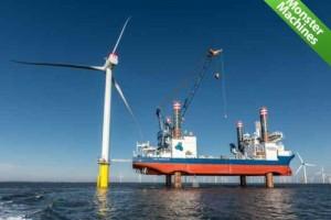 Машины-монстры: Sea Installer — огромное судно для установки турбин ветрогенераторов в открытом море