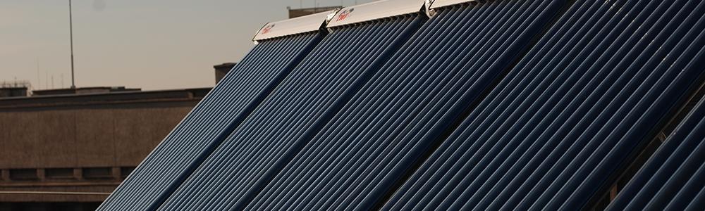 Комбинированные солнечные коллекторы с тепловыми трубками.