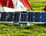 Портативный солнечный генератор с ситемой слежения