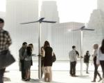 Городские зарядные станции на солнечной энергии для мобильников