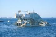 Близ берегов Южной Австралии вступила в строй первая электростанция, мощностью 1 МВт, превращающая в электричество энергию волн